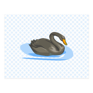 Swerrel Swan Postcard