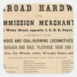 Swetland, Pratt and Company Square Sticker