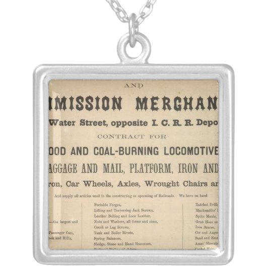 Swetland, Pratt y Company Collar Plateado