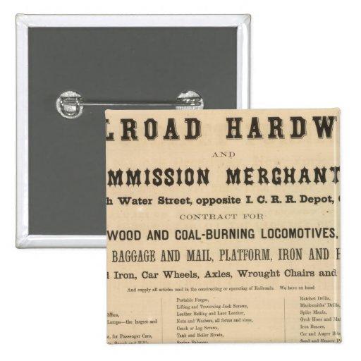 Swetland, Pratt y Company Pin Cuadrado