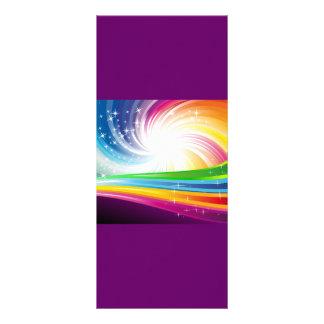 Swi digital de la diversión del fondo colorido del plantillas de lonas