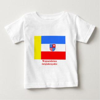 Świętokrzyskie - bandera cruzada santa con nombre camisetas