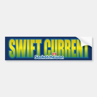 Swift Current Bumper Bumper Sticker
