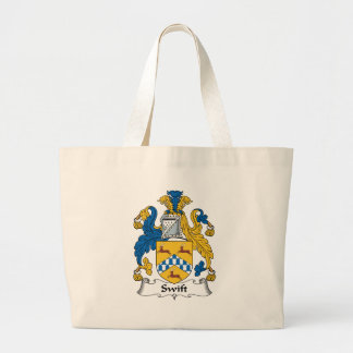 Swift Family Crest Canvas Bags