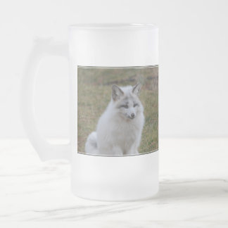Swift Fox 16 Oz Frosted Glass Beer Mug