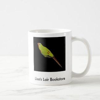 Swift Parrot - Lathamus discolor Bookstore Promo Coffee Mug