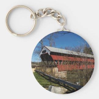Swift River Bridge Keychain