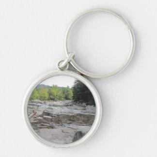 Swift River Small Premium Round Key Chain