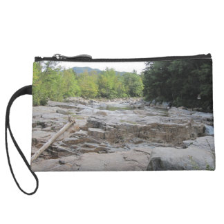 Swift River Sueded Mini Clutch Wristlet Clutches