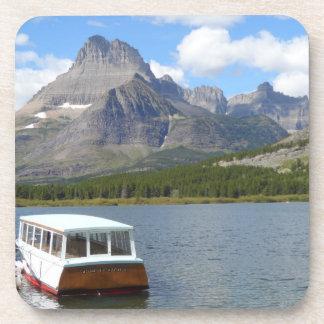 Swiftcurrent Lake- Glacier National Park Beverage Coaster