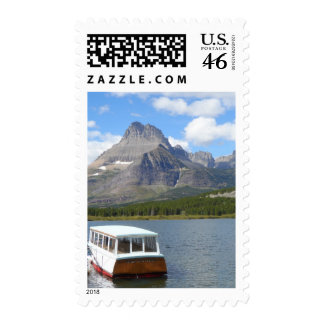 Swiftcurrent Lake - Glacier National Park Postage