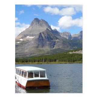 Swiftcurrent Lake - Glacier National Park Postcard