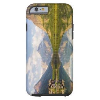 Swiftcurrent Lake with Many Glacier hotel and Tough iPhone 6 Case