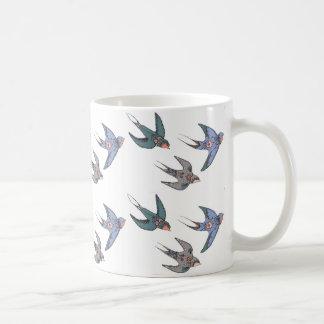 Swiftly Swooping Swallows Mug