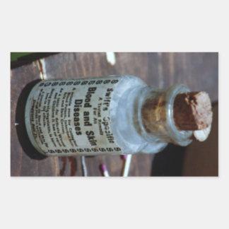 Swift's Specific Blood Purifier Rectangular Sticker