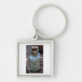 Swift's Specific Blood Purifier Silver-Colored Square Keychain