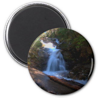 Swiftwater Falls 2 Inch Round Magnet