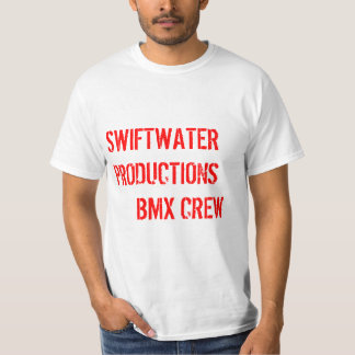 SWIFTWATER PRODUCTIONS BMX CREW T-Shirt