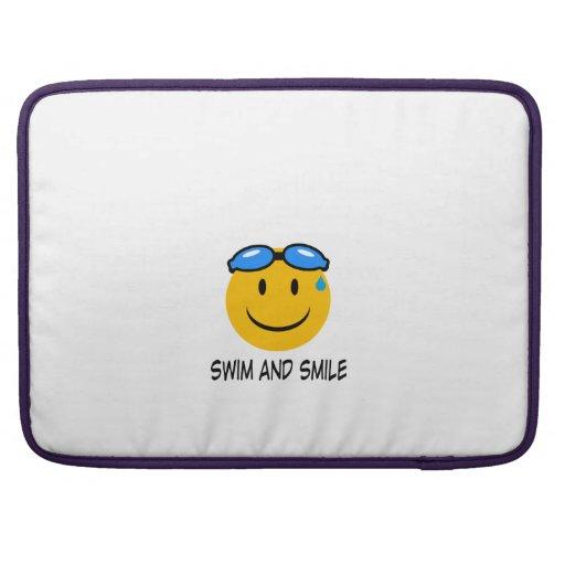 swim and smile fundas para macbooks