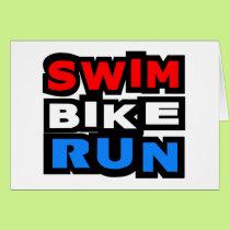 Swim Bike Run Card