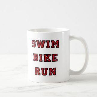 Swim Bike Run Coffee Mug