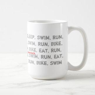 Swim, Bike, Run - I Am a Triathlete - Coffee Mug