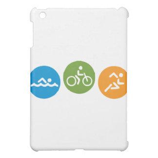 Swim Bike Run iPad Mini Cover