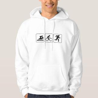 Swim, Bike, Run - Triathlon Hoodie