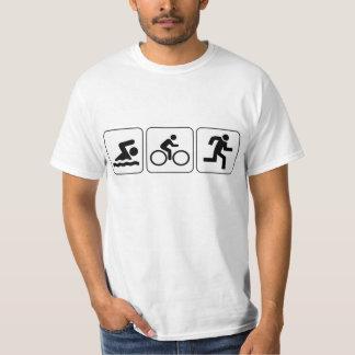 Swim, Bike, Run - Triathlon T-Shirt