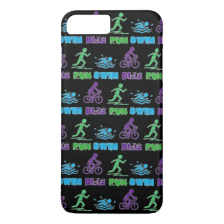 Swim Bike Run Triathlon Triathlete Ironman Race iPhone 7 Plus Case