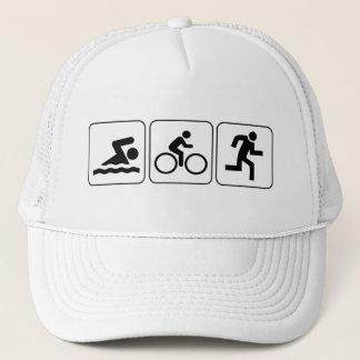 Swim, Bike, Run - Triathlon Trucker Hat