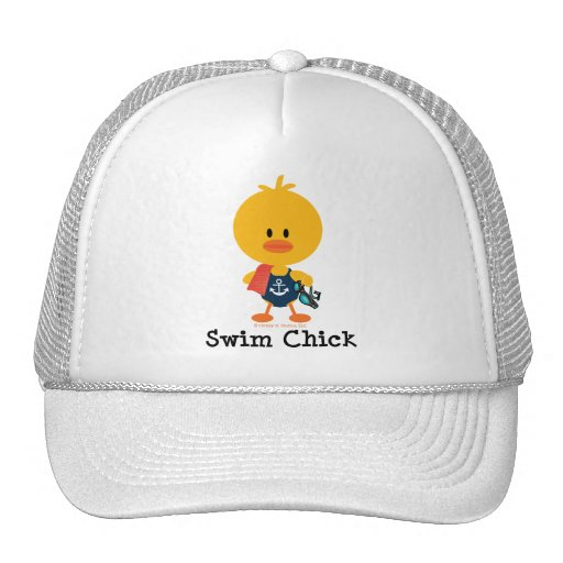 Swim Chick Trucker Hat