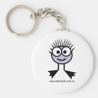 Swim Club Lilac Swim Character Key Ring Keychains