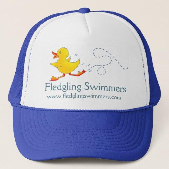 Swim club swim teachers duck promotion cap