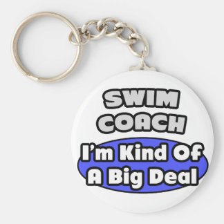 Swim Coach...Big Deal Keychain