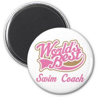 Swim Coach Gift Magnet