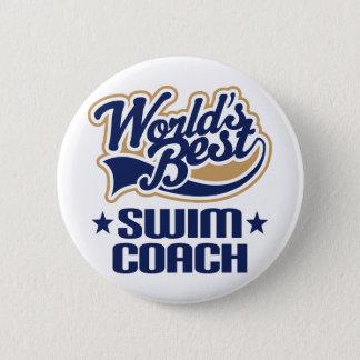 Swim Coach Gift Pinback Button