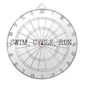 Swim Cycle Run Dart Boards