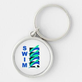 Swim Dolphins Keychain