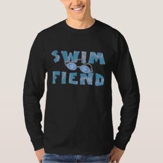 Swim Fiend - Funny Swimming Shirt (long-sleeve)