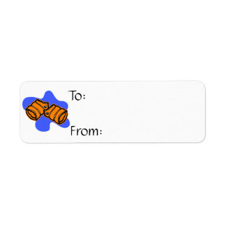 swim floaties return address labels