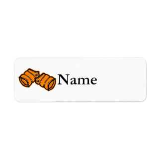 Swim Floaties Custom Return Address Labels