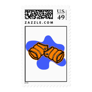 swim floaties stamp