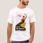 Swim For Health 1940 WPA T-Shirt
