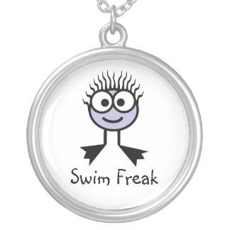 Swim Freak - Lilac Swim Character Necklace