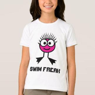 Swim Freak -  Pink Swim Character T-Shirt