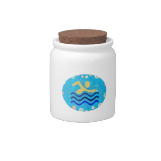 Swim Hot times cool mind2 Candy Jars