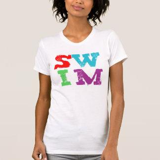 SWIM letters T-Shirt