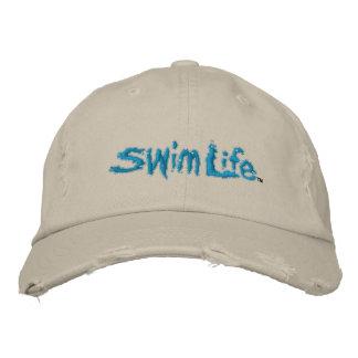 Swim life hat embroidered baseball cap