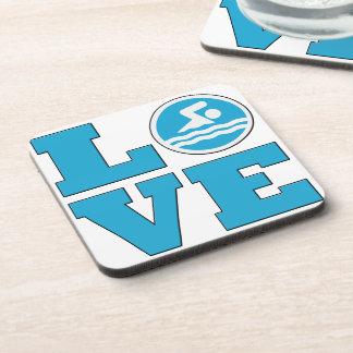 Swim Love Coasters